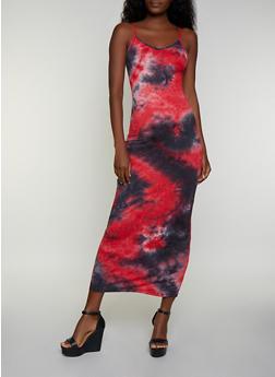 Tie Dye Cami Maxi Dress | 3410068511425 - 3410068511425