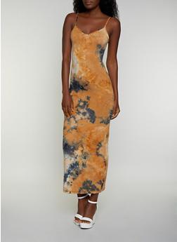 Tie Dye Cami Maxi Dress | 3410068512425 - 3410068512425