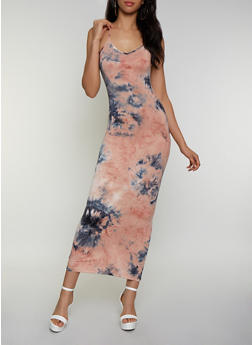 Tie Dye Cami Maxi Dress | 3410068512425 - 3410068512425