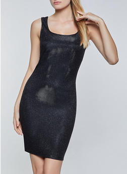 Lurex Bodycon Dress - 3410069391221