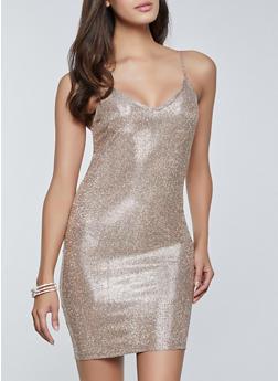 Lurex Cami Dress - 3410069392218