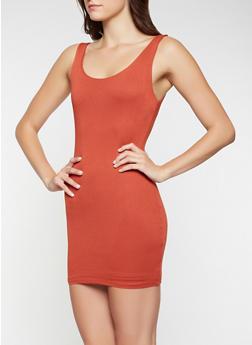 Solid Tank Dress - 3410069393674