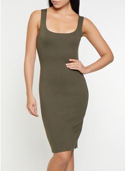 Ponte Tank Dress - 3410069393991