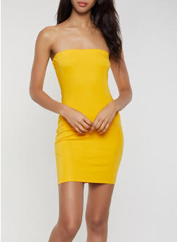 Solid Ponte Tube Dress - 3410069394164