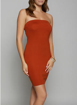 Solid Ponte Tube Dress - 3410069394164