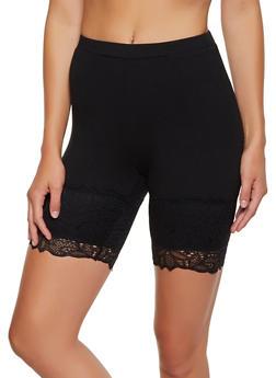 Lace Trim Bike Shorts | 3411054212014 - 3411054212014