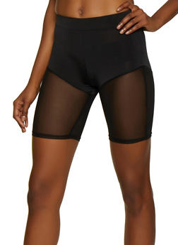 Mesh Trim Bike Shorts - 3411058759000