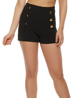 Zip Back Sailor Shorts - 3411062701427