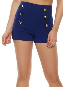 Zip Back Sailor Shorts - 3411062701427