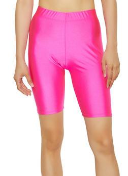 Solid Neon Bike Shorts - 3411062702222