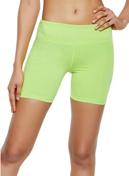Cotton Stretch Bike Shorts - 3411062703259