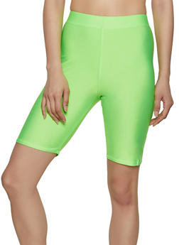 Neon Spandex Bike Shorts - 3411062703264