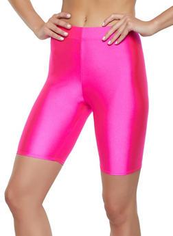 Neon Spandex Bike Shorts - 3411062703264