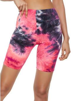 Tie Dye Bike Shorts | 3411063402188 - 3411063402188