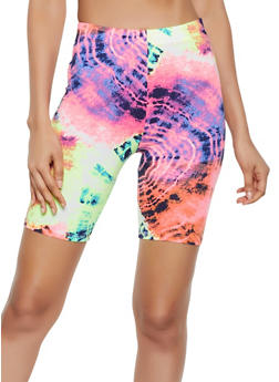 Tie Dye Bike Shorts | 3411063408801 - 3411063408801