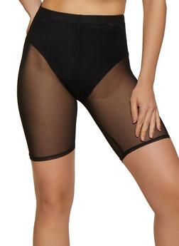 Mesh Bike Shorts - 3411063408900