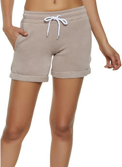 Fleece Lined Sweatshorts - 3411072299920