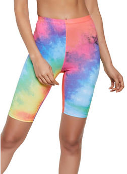Tie Dye Soft Knit Bike Shorts |  3413058758000 - 3413058758000