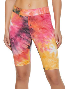 Tie Dye Bike Shorts | 3413061354422 - 3413061354422