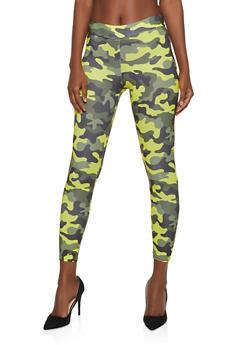 Camo Soft Knit Leggings - 3413061358122