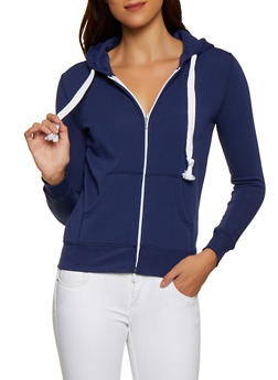 Fleece Lined Zip Up Sweatshirt | 3413062703057 - 3413062703057