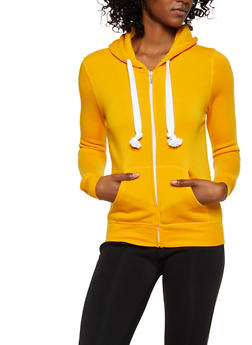 Fleece Lined Zip Up Sweatshirt | 3413062703057 - 3413062703057