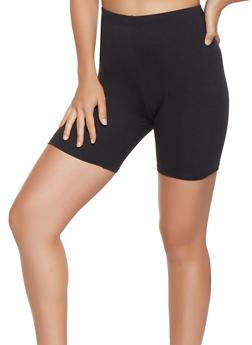 Solid Bike Shorts - 3413068511673
