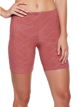Decorative Stitch Bike Shorts - 3413068513761