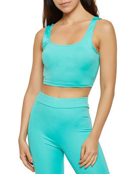 Sleeveless Crop Top | 3413069390096 - 3413069390096