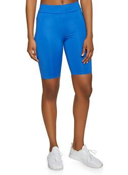 Neon Bermuda Bike Shorts - 3413069393105