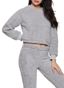 Sherpa Sweatshirt - 3413069397070