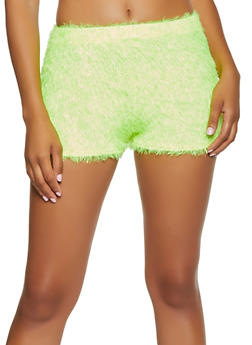 Feather Knit Shorts - 3413072241083