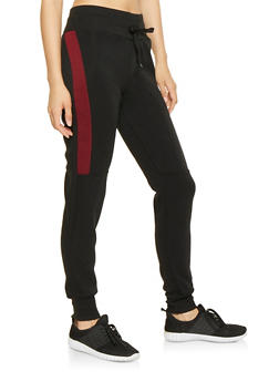Color Block Sweatpants - 3413072290951