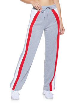 Color Block Sweatpants - 3413072291110