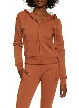 Fleece Zip Sweatshirt - 3413072291766