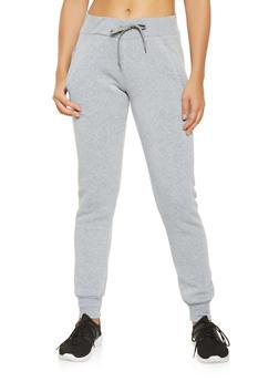 Fleece Lined Joggers - 3413072292176