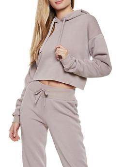 Pullover Fleece Lined Sweatshirt - 3413072292292