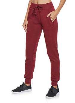 Fleece Lined Joggers - 3413072293176