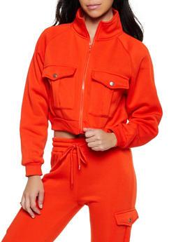 Cargo Zip Sweatshirt - 3413072295004