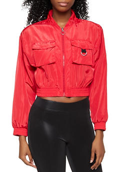Windbreaker Bomber Jacket - 3414038204054