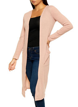 Ribbed Knit Duster | 3414062702245 - 3414062702245