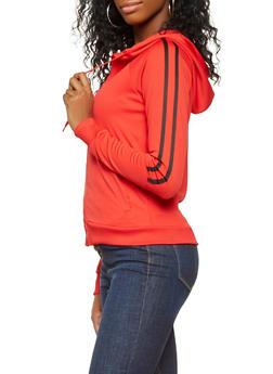 Varsity Stripe Track Jacket - 3414072290228