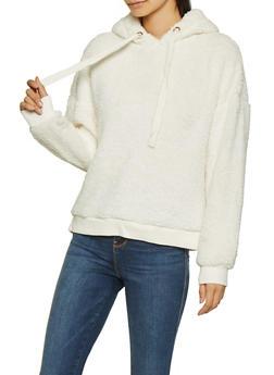 Hooded Sherpa Sweatshirt - 3416054211383