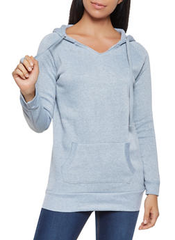 Fleece Lined Pullover Sweatshirt - 3416062704038