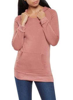 Fleece Lined Pullover Sweatshirt - 3416062704038