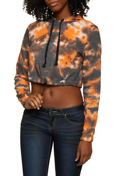 Tie Dye Hooded Sweatshirt - 3416063403852