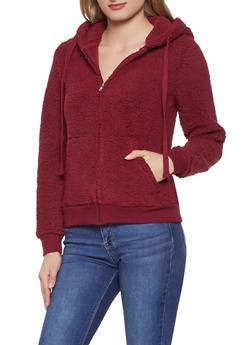 Sherpa Hooded Sweatshirt - 3416069392630