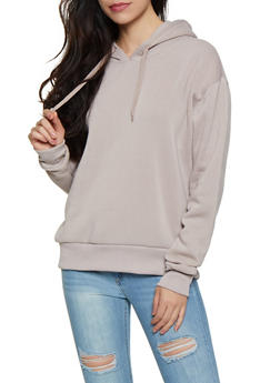 Hooded Fleece Lined Sweatshirt - 3416072290282
