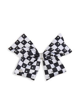 JoJo Siwa Checkered Bow Clip - 3590049040601