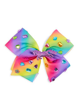 JoJo Siwa Jewel Unicorn Bow Clip - 3590049040604